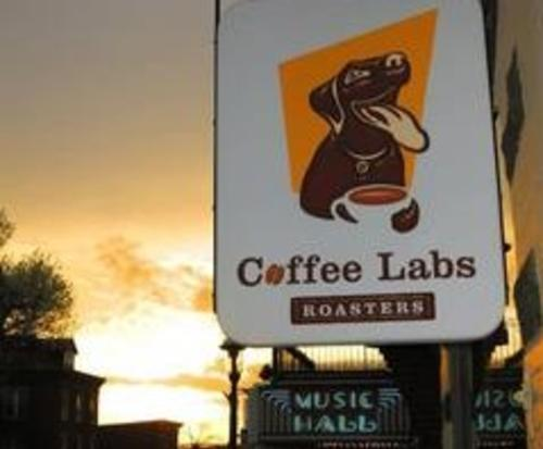 Coffee Labs Sign