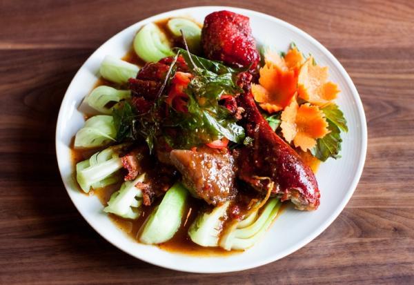 Vibrant Thai food