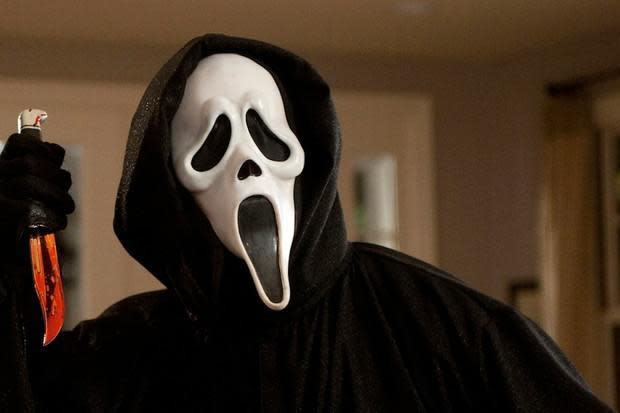 """The Ghostface killer from the film, """"Scream"""""""