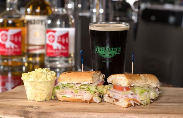 Artichoke Famous #8 Sandwich