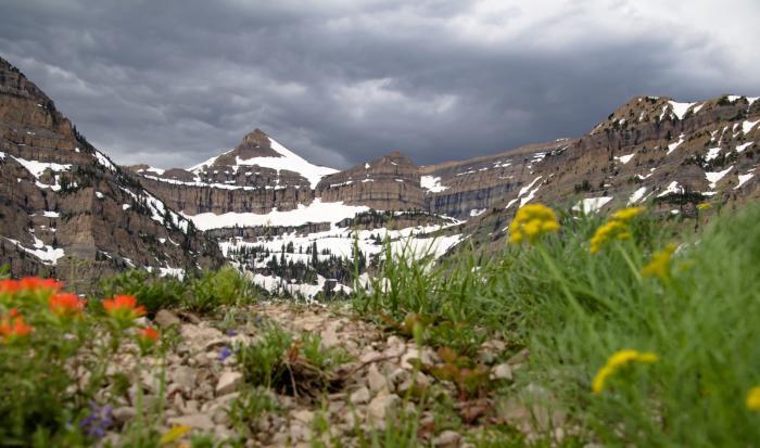 Mount Timpanogos in Utah Valley