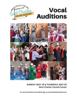 Festival Vocal Auditions Flyer