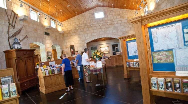 Visitor Information Center Interior