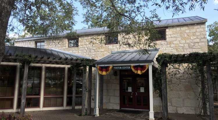 Visitor Information Center Exterior