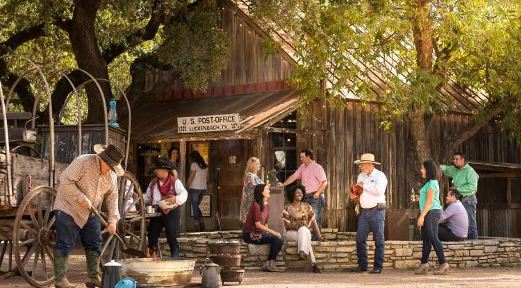 Luckenbach Texas