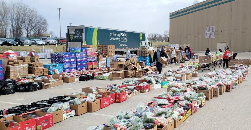 Second Harvest food drive