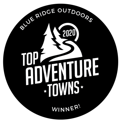 Blue Ridge Outdoors - Top Adventure Towns Winner