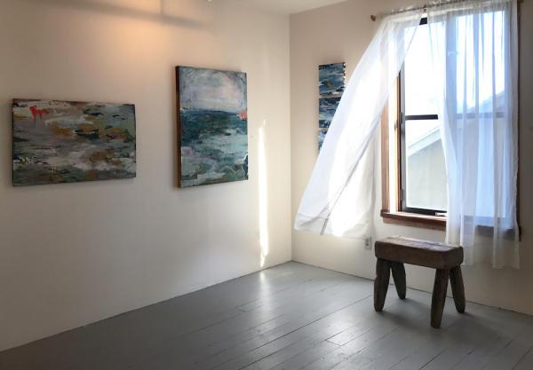 Gray Loft Gallery Interior in Oakland CA