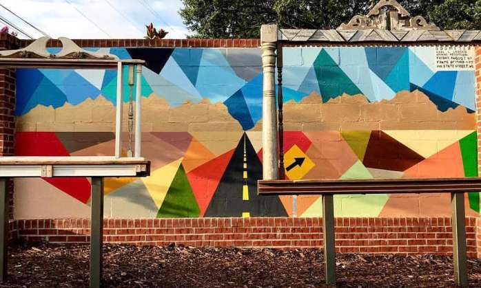 West Columbia Mural
