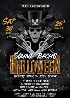 PAC live event spooky rock show