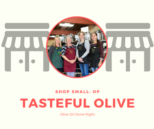 The Tasteful Olive in Overland Park, Shop Small