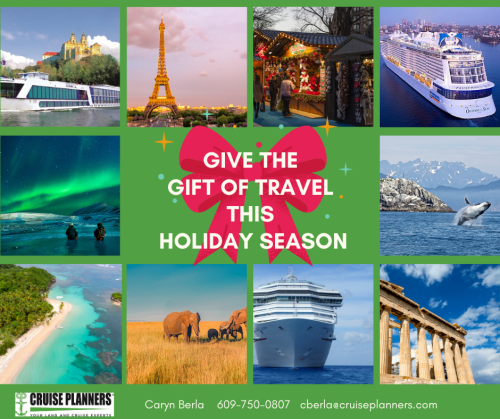 Give the gift of travel this holiday season with a cruise package