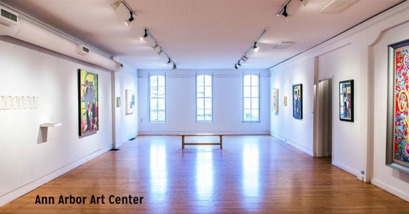 Gallery Space, Ann Arbor Art Center