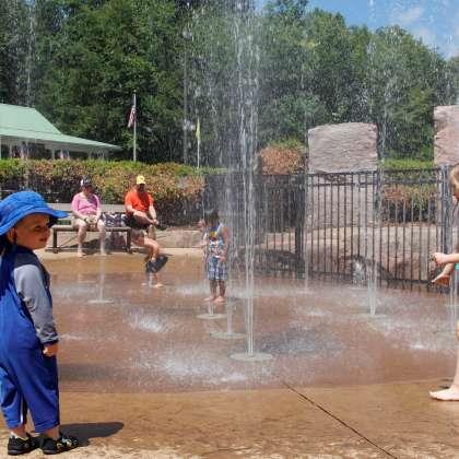 Water Plaza at Dan Nicholas