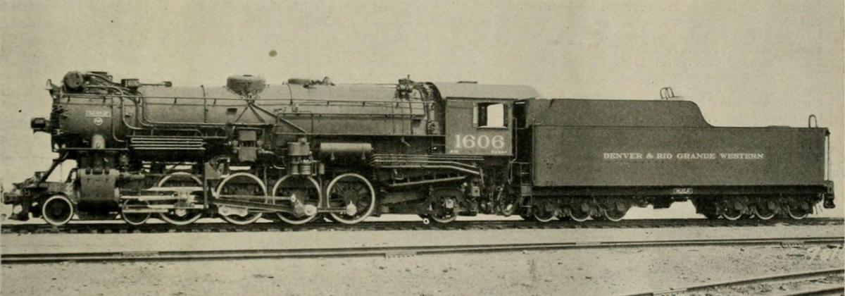 Locomotives for The Denver & Rio Grande Western Railroad Co. Built by the Baldwin Locomotive Works
