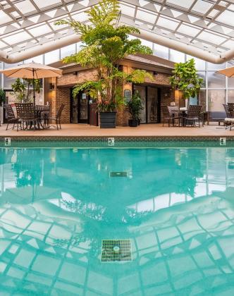 Best Western Okemos East Lansing pool