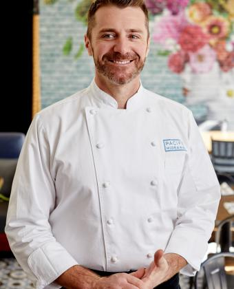 Chef Gilbert Laurie at Pacific Hideaway