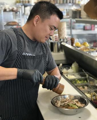 Paul Cao Burnt Crumbs Chef