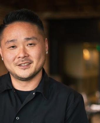 Tin Vuong chef at Bluegold