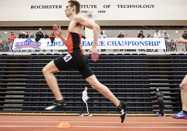 Indoor Track Competition at Gordon Field House, RIT