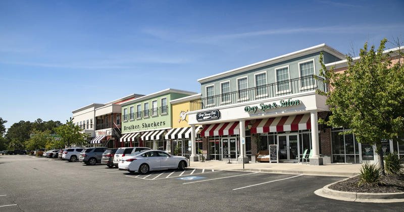 Carolina Forest Crossings shopping and restaurants