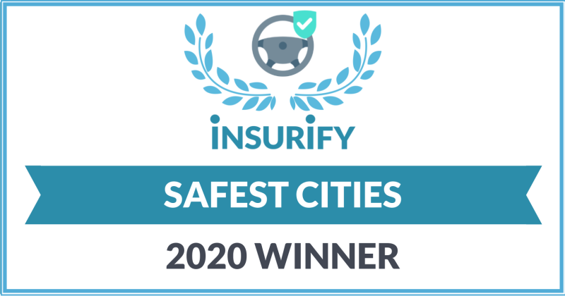 insurify best drivers winning badge