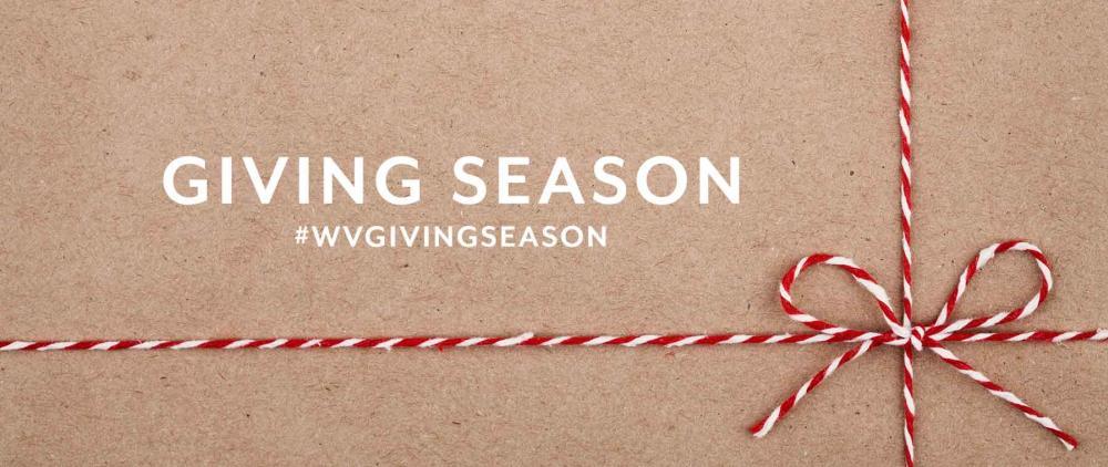 Giving Season banner