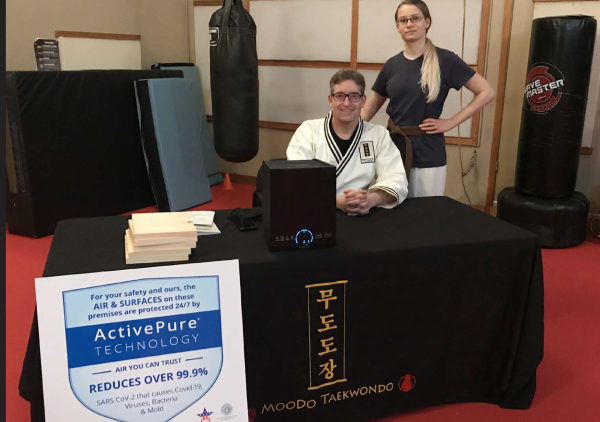 ActivePure Technology in Use at Moodo Taekwondo