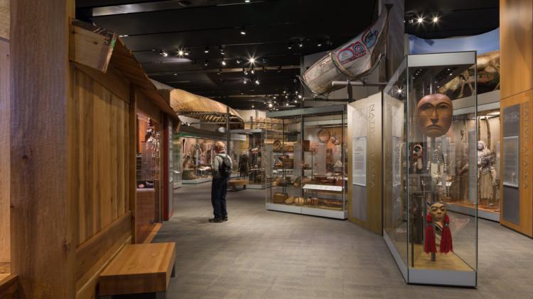 Alaska State Museum - Alaska Native gallery