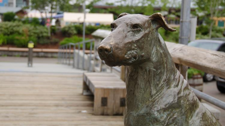Patsy Ann Dog Statue