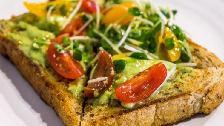 mclains market avocado toast