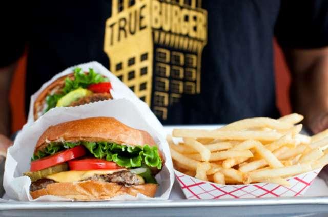 Burger Tray