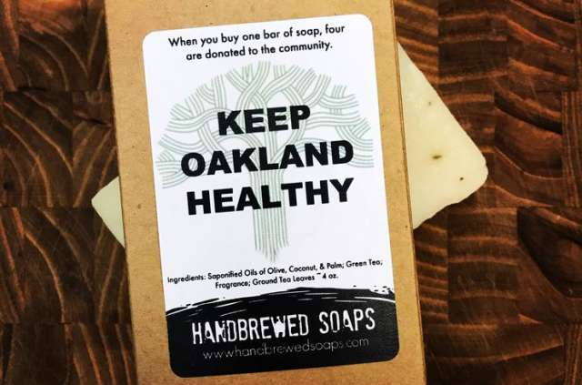 Keep Oakland Healthy Soap Bar Photo