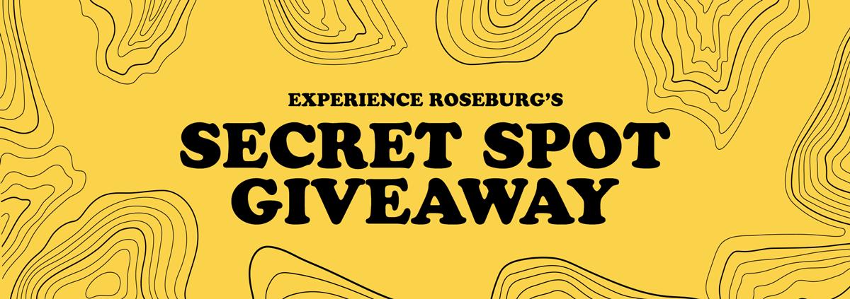 Secret Spot Giveaway
