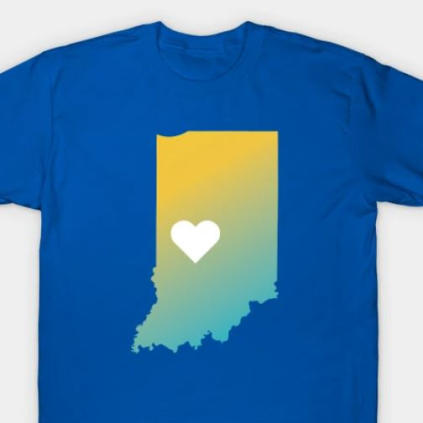 All In Hendricks County Classic T-Shirt