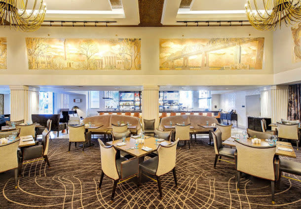 The Gregory Hotel dining room