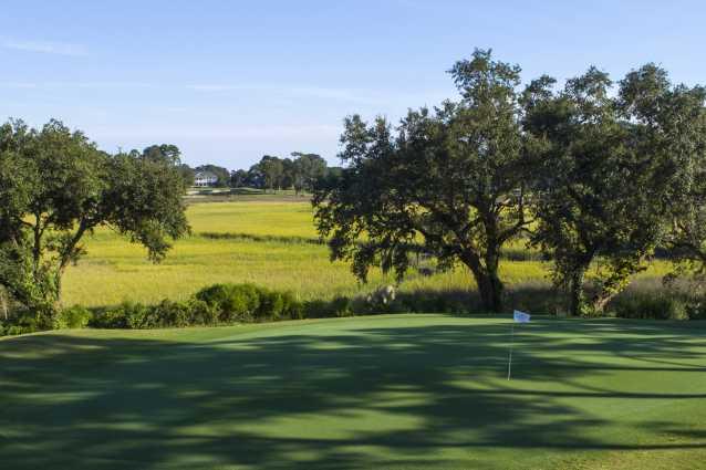 Beautiful coastal golf course