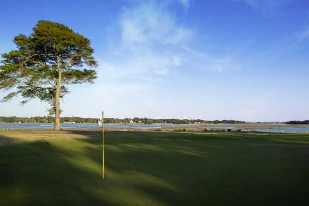 Lockwood Folly Country Club 18th hole