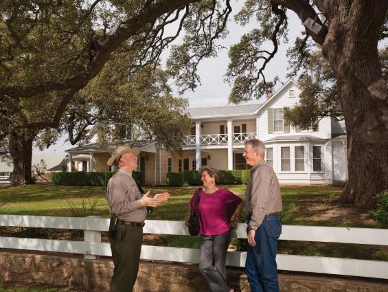 LBJ Ranch Texas White House