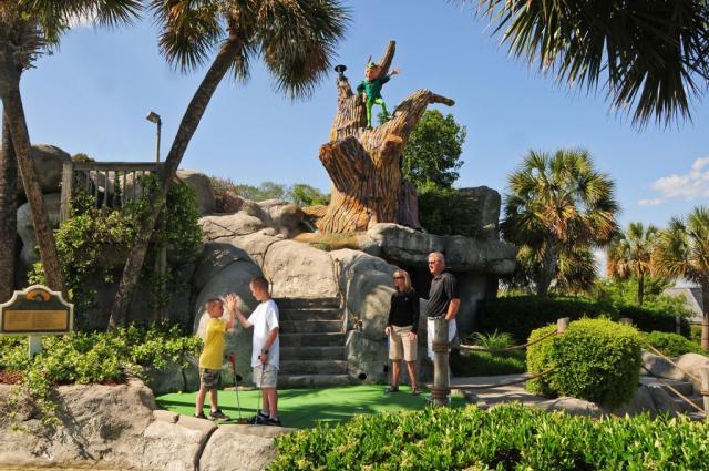 Captain Hook's Miniature Golf, Myrtle Beach, SC