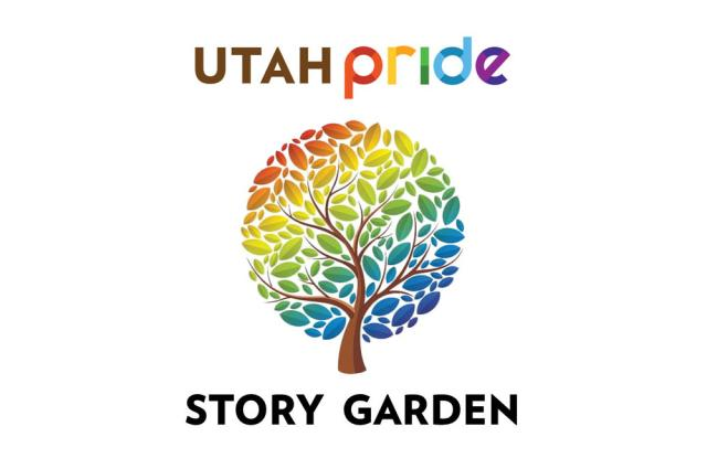 Utah Pride Story Garden