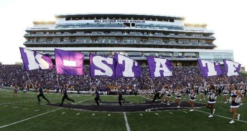 K-State flags