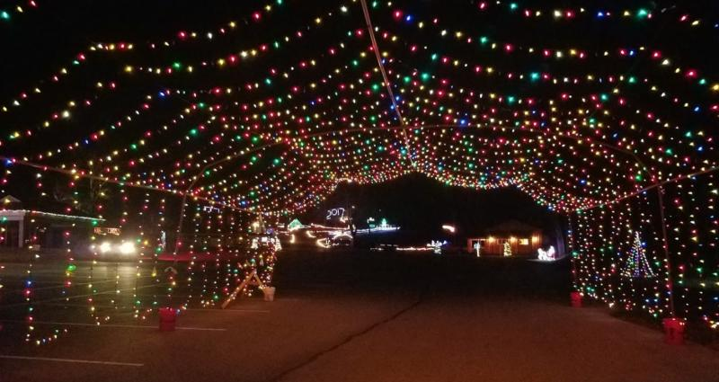 Enjoy the holiday lights at Jimmy Nash City Park in Martinsville, through Jan. 1.