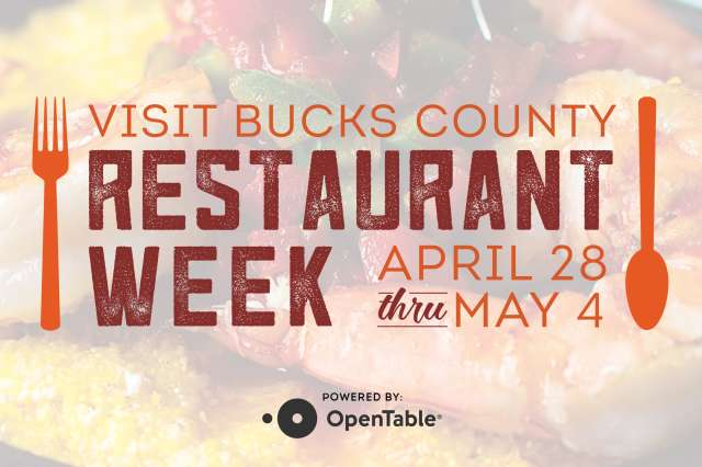 Visit Bucks County Restaurant Week