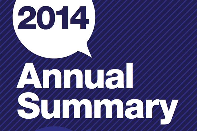 2014 Annual Summary