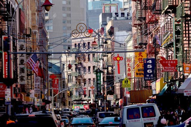 chinatown, street