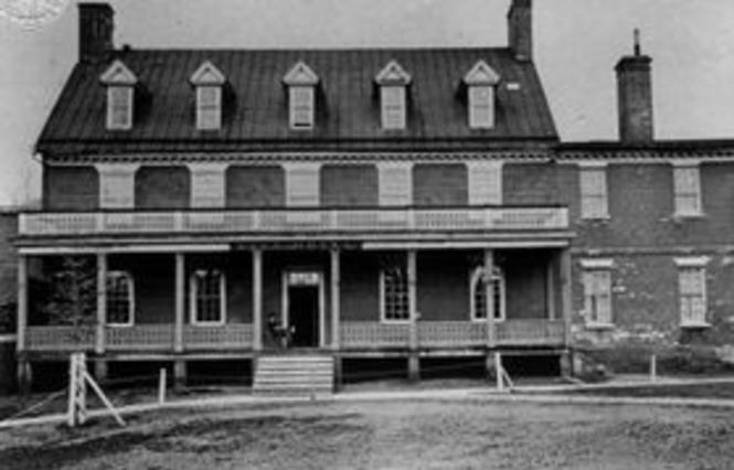 The City Hotel, a.k.a. Mann's Tavern c. 1860