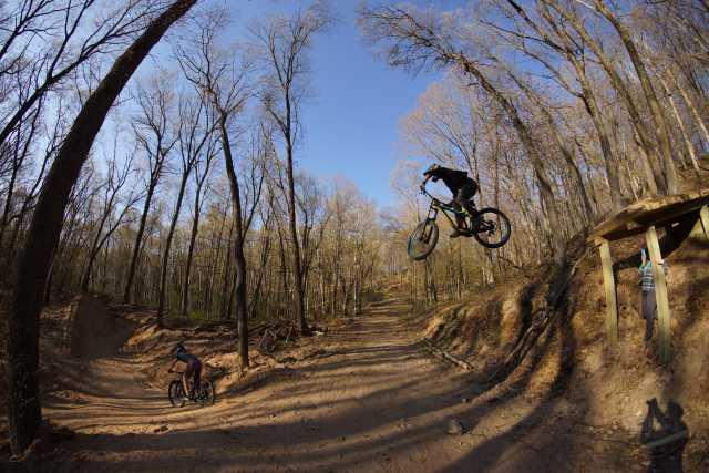Mountain Biking at Pinehurst Park