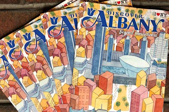 Discover Albany Reveals New Cover Design, Illustrated Map for 2020 Visitors Guide