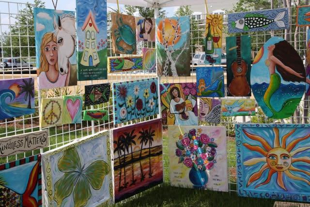 Art in the Park, Chapin Park, Myrtle Beach, SC